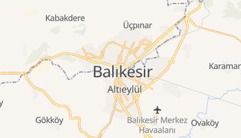 Carte en ligne de Balıkesir