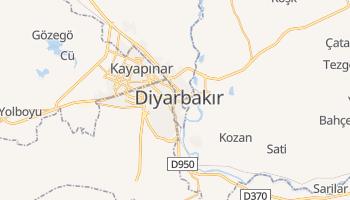 Carte en ligne de Diyarbakır
