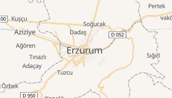 Carte en ligne de Erzurum