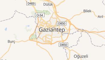 Carte en ligne de Gaziantep