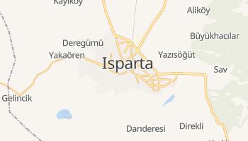 Carte en ligne de Isparta