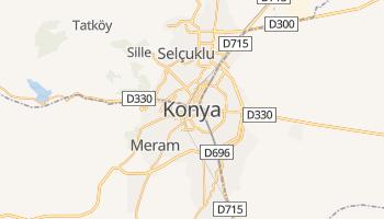 Carte en ligne de Konya