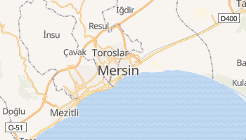 Carte en ligne de Mersin