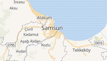 Carte en ligne de Samsun