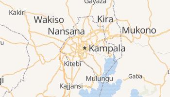 Carte en ligne de Kampala