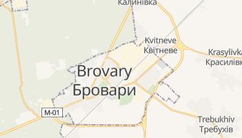 Carte en ligne de Brovary