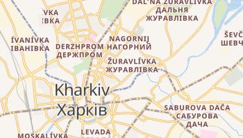 Carte en ligne de Kharkiv