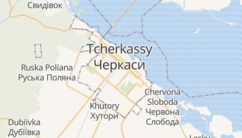 Carte en ligne de Tcherkassy