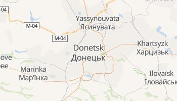 Carte en ligne de Donetsk