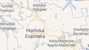 Carte en ligne de Horlivka