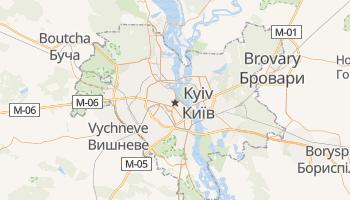 Carte en ligne de Kyïv