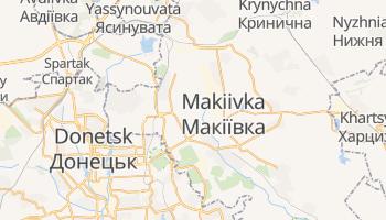 Carte en ligne de Makiivka