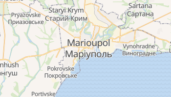 Carte en ligne de Marioupol