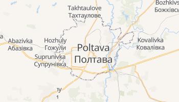Carte en ligne de Poltava