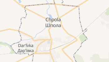 Carte en ligne de Chpola