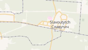 Carte en ligne de Slavoutytch