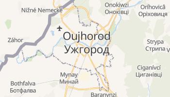 Carte en ligne de Oujhorod