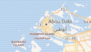 Carte en ligne de Abu Dhabi
