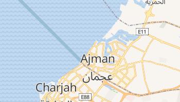 Carte en ligne de Ajman