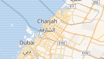 Carte en ligne de Charjah