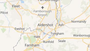 Carte en ligne de Aldershot