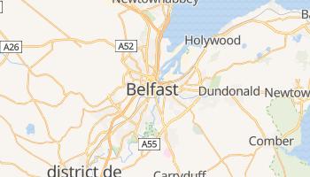 Carte en ligne de Belfast