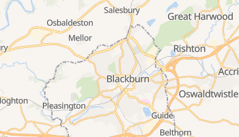 Carte en ligne de Blackburn