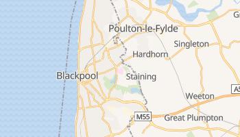 Carte en ligne de Blackpool