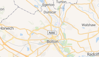 Carte en ligne de Bolton
