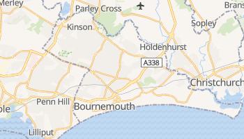 Carte en ligne de Bornemouth