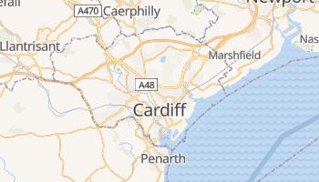 Carte en ligne de Cardiff