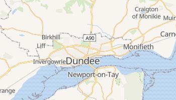 Carte en ligne de Dundee