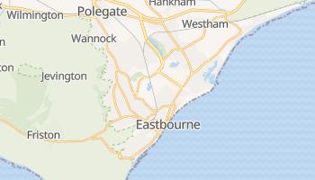 Carte en ligne de Eastbourne