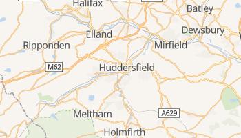 Carte en ligne de Huddersfield