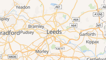 Carte en ligne de Leeds
