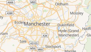 Carte en ligne de Manchester