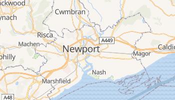 Carte en ligne de Newport