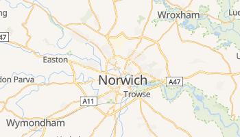 Carte en ligne de Norwich