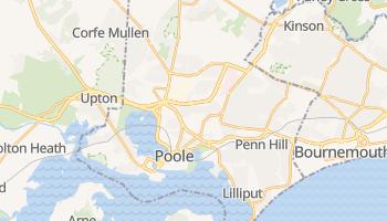 Carte en ligne de Poole