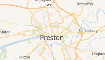 Carte en ligne de Preston