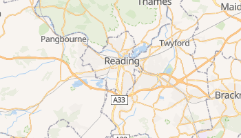 Carte en ligne de Reading