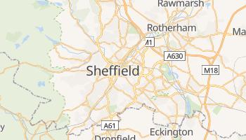Carte en ligne de Sheffield