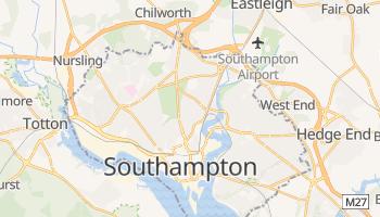 Carte en ligne de Southampton