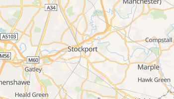 Carte en ligne de Stockport