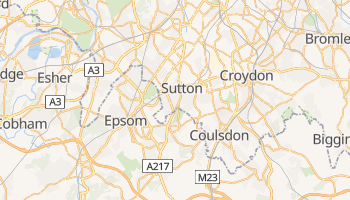 Carte en ligne de Sutton
