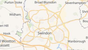 Carte en ligne de Swindon
