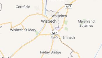 Carte en ligne de Wisbech