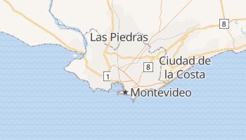 Carte en ligne de Montevideo