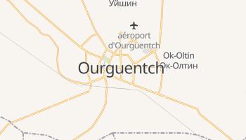 Carte en ligne de Ourguentch