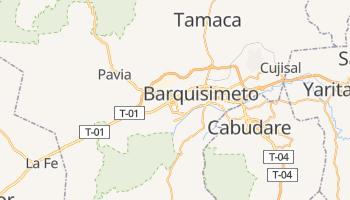 Carte en ligne de Barquisimeto
